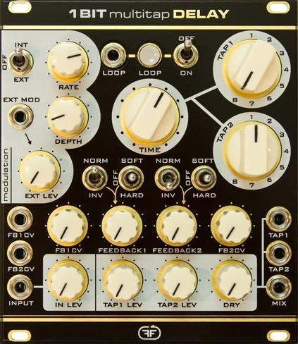 Feedback Modules 1BIT Multitap Delay