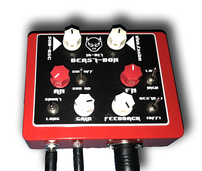 Beast-Tek BeastBox Midi Pedal Synth Full Kit (kit)