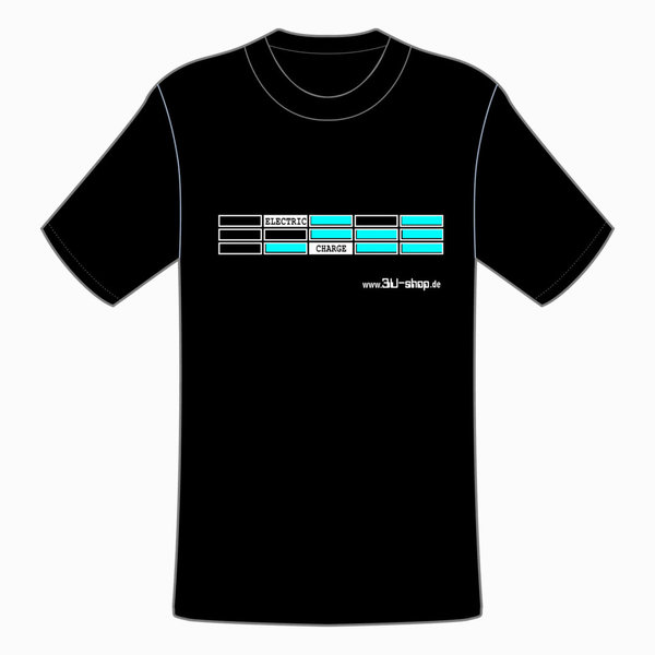 3U-Shop T-Shirt, ELECTRIC CHARGE